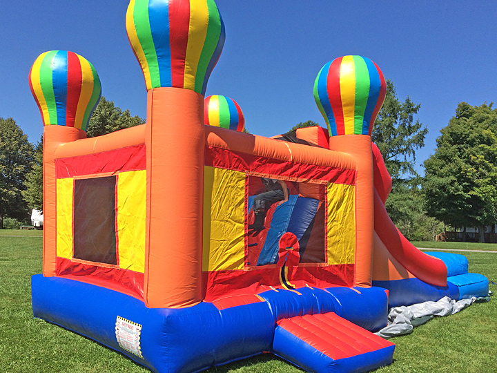 Bounce House at Lebanon Reservoir Campground